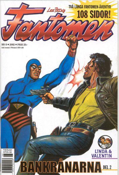 Cover for Fantomen (Egmont, 1997 series) #6/2002