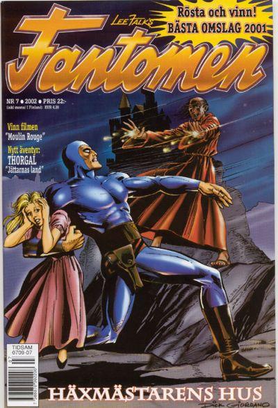 Cover for Fantomen (Egmont, 1997 series) #7/2002
