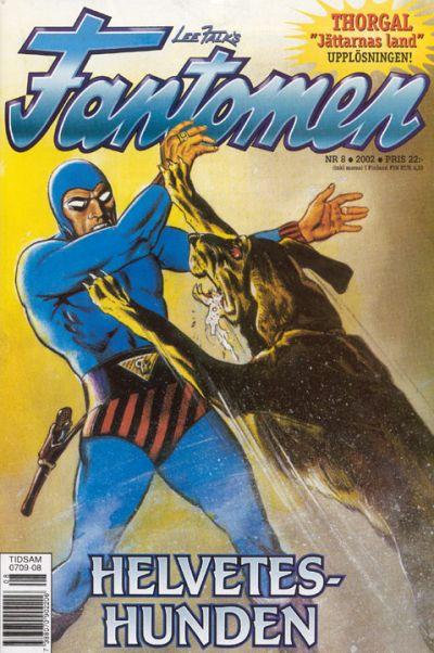 Cover for Fantomen (Egmont, 1997 series) #8/2002
