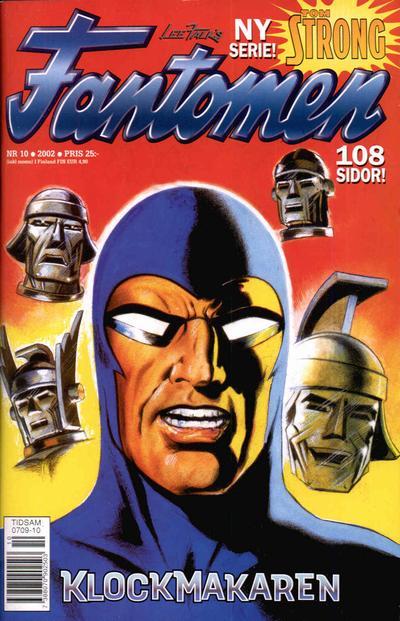 Cover for Fantomen (Egmont, 1997 series) #10/2002