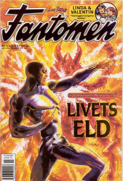 Cover for Fantomen (Egmont, 1997 series) #11/2002