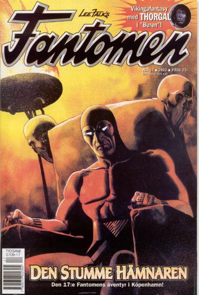 Cover for Fantomen (Egmont, 1997 series) #17/2002