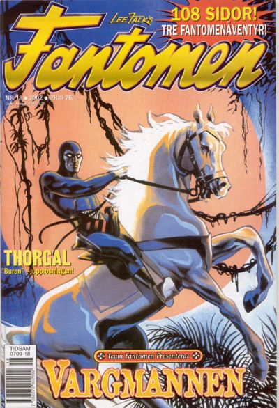 Cover for Fantomen (Egmont, 1997 series) #18/2002