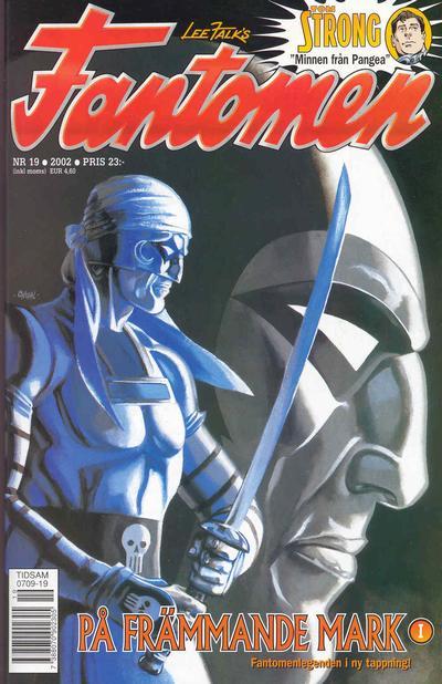 Cover for Fantomen (Egmont, 1997 series) #19/2002