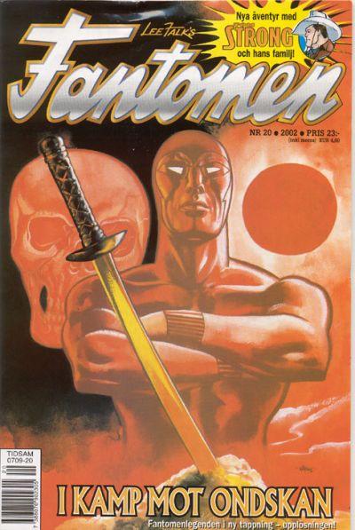 Cover for Fantomen (Egmont, 1997 series) #20/2002