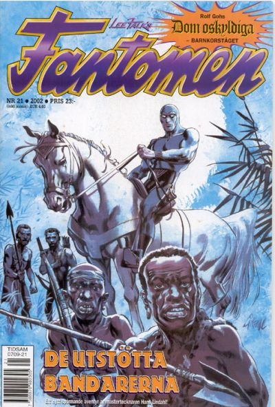 Cover for Fantomen (Egmont, 1997 series) #21/2002