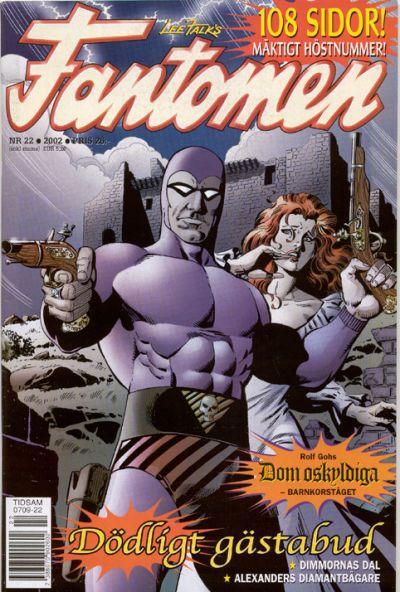 Cover for Fantomen (Egmont, 1997 series) #22/2002