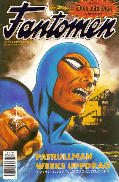 Cover for Fantomen (Egmont, 1997 series) #23/2002
