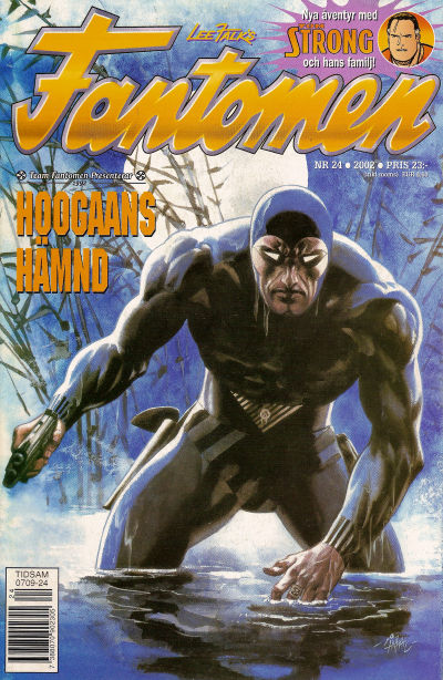 Cover for Fantomen (Egmont, 1997 series) #24/2002