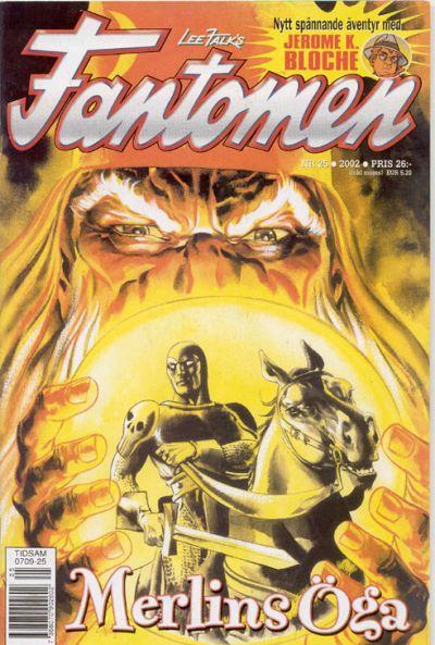 Cover for Fantomen (Egmont, 1997 series) #25/2002