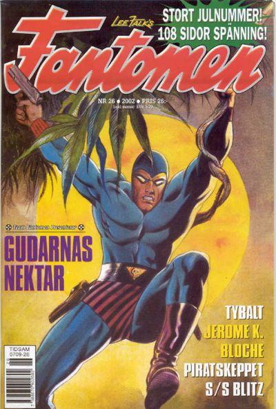 Cover for Fantomen (Egmont, 1997 series) #26/2002
