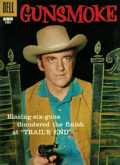 Cover for Four Color (Dell, 1942 series) #844 - Gunsmoke