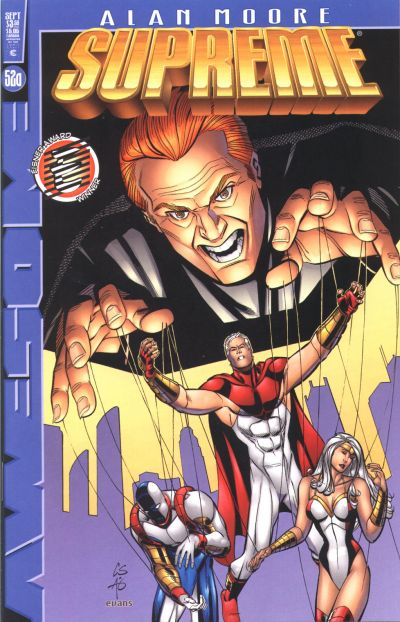 Cover for Supreme (Awesome, 1997 series) #52a