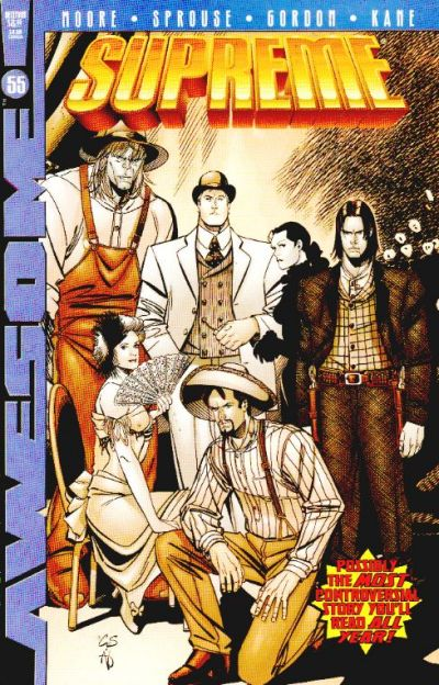 Cover for Supreme (Awesome, 1997 series) #55