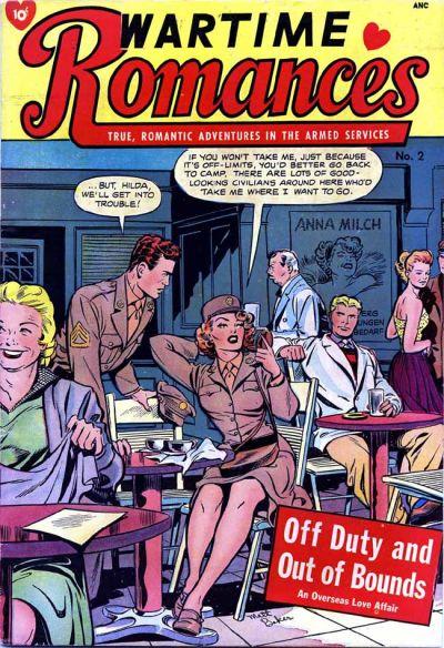 Cover for Wartime Romances (St. John, 1951 series) #2