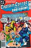 Cover for Captain Carrot and His Amazing Zoo Crew! (DC, 1982 series) #17 [Newsstand Edition]