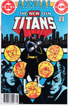 Cover Thumbnail for The New Teen Titans Annual (1982 series) #2 [Newsstand]