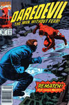 Cover Thumbnail for Daredevil (1964 series) #291 [Newsstand Edition]