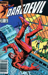 Cover for Daredevil (Marvel, 1964 series) #210 [Newsstand Edition]
