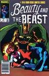 Cover for Beauty and the Beast (Marvel, 1984 series) #4 [Newsstand Edition]