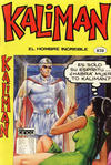 Cover for Kaliman (Editora Cinco, 1976 series) #838