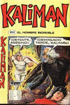 Cover for Kaliman (Editora Cinco, 1976 series) #853
