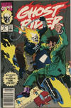 Cover Thumbnail for Ghost Rider (1990 series) #4 [Newsstand Edition]