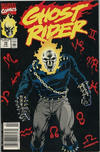 Cover Thumbnail for Ghost Rider (1990 series) #10 [Newsstand Edition]
