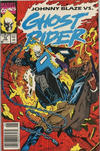 Cover for Ghost Rider (Marvel, 1990 series) #14 [Newsstand]