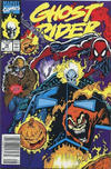 Cover Thumbnail for Ghost Rider (1990 series) #16 [Newsstand Edition]