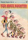 Cover for Kauka Super Serie (Gevacur, 1970 series) #37 - Lucky Luke - Vier brave Banditen
