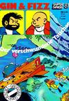 Cover for Kauka Super Serie (Gevacur, 1970 series) #81 - Gin und Fizz - Der verschwundene Taucher