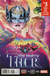 Cover Thumbnail for Mighty Thor (2016 series) #15 [Russell Dauterman Cover]