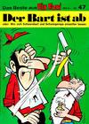 Cover for Kauka Super Serie (Gevacur, 1970 series) #47 - Schwarzbart - Der Bart ist ab