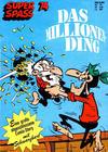 Cover for Kauka Super Serie (Gevacur, 1970 series) #74 - Schwarzbart - Das Millionending