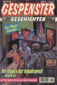 Cover Thumbnail for Gespenster Geschichten (Bastei Verlag, 1974 series) #1048