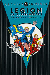 Cover Thumbnail for The Legion of Super-Heroes Archives (DC, 1991 series) #3 [Second Printing]