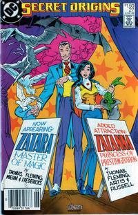 Cover Thumbnail for Secret Origins (DC, 1986 series) #27 [Newsstand]
