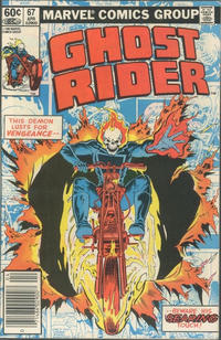 Cover for Ghost Rider (Marvel, 1973 series) #67 [Direct Edition]