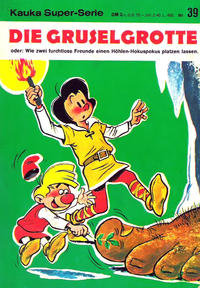 Cover Thumbnail for Kauka Super Serie (Gevacur, 1970 series) #39 - Prinz Edelhart - Die Gruselgrotte