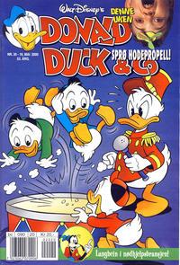 Cover Thumbnail for Donald Duck & Co (Hjemmet / Egmont, 1948 series) #20/2000
