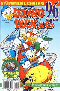 Cover Thumbnail for Donald Duck & Co (Hjemmet / Egmont, 1948 series) #29/2000
