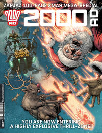 Cover Thumbnail for 2000 AD (Rebellion, 2001 series) #2011