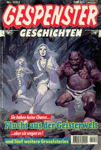 Cover Thumbnail for Gespenster Geschichten (Bastei Verlag, 1974 series) #1052