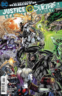 Cover Thumbnail for Justice League vs. Suicide Squad (DC, 2017 series) #4 [Fernando Pasarin / Matt Ryan Cover]