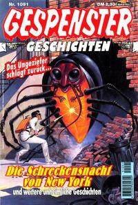 Cover Thumbnail for Gespenster Geschichten (Bastei Verlag, 1974 series) #1091