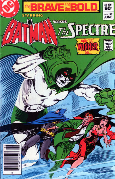Cover for The Brave and the Bold (DC, 1955 series) #199 [Direct]