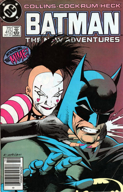 Cover for Batman (DC, 1940 series) #412 [Direct Sales]