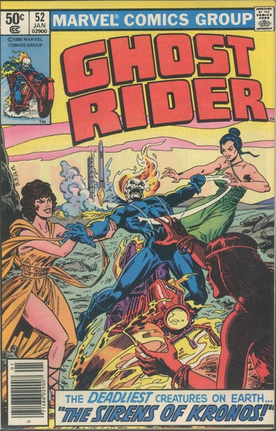 Cover for Ghost Rider (Marvel, 1973 series) #52 [Direct Edition]