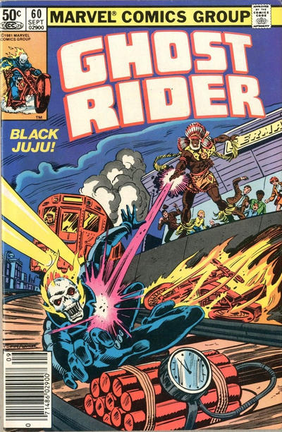 Cover for Ghost Rider (Marvel, 1973 series) #60 [Direct]